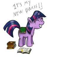 Filly Twilight's new dwess by BlueSpirit442