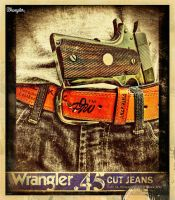Wrangler 45 Poster by Drchristophers