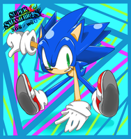Sonic//Smash 4 by ForTrueStory