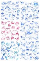 Mouths practice 2 by FlyingCarpets