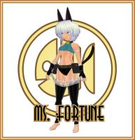 Ms. Fortune (Skullgirls) by Morphy-McMorpherson