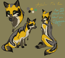 Aislin Character Sheet Redo (Fox Form) by DarthAislin