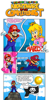 SM 3D Land Comics: Nightmare of the Completionist by MushroomWorldDrawer