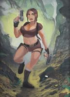 Jungle Run (Lara) by Shane-D-Solomon