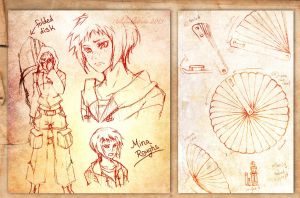 Concept sketches: Mina by ruina