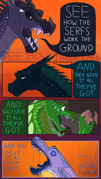 and they give it all they've got by Crowlivian