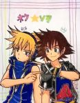 Neku and Sora by Dark0Light