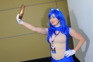 PAX East 2014 - Blue Blur(PS) 03 by VideoGameStupid