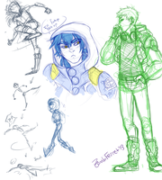 DMMD Doodles by Doctor-Ita