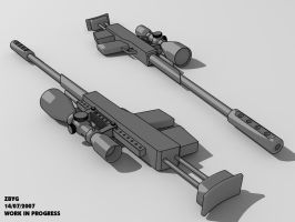Sniper Work In Progress by zbyg