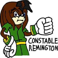 Constable Remington by tanlisette