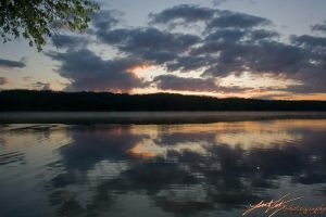 Lake Sunset by LaurenWilzPhotog