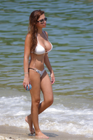 Hottie in bikini with big glasses and big breasts by HipsLie