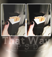 #The Way || Psd by CustomizeYourLife