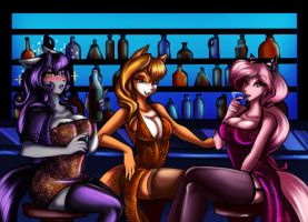 Girls night out (AT) by oOo-Belise-oOo