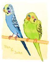 Pen And Jake by unbadger