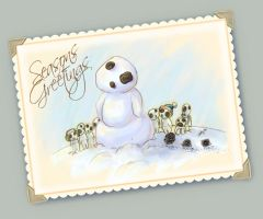 Snodama Greetings by GoblinQueeen