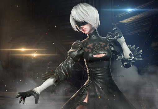 2B by DemonLeon3D