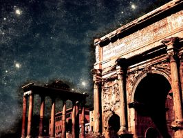 The Arch of Septimius Severus by mirmanerd101