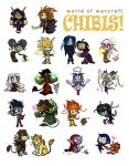 WoW Chibis by cazamonster
