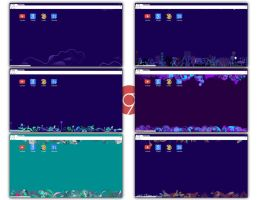 7 Metro Inspired Themes for Google Chrome by UnderwaterSun