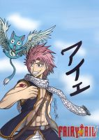 FT - Natsu and Happy by RenanReynaldo