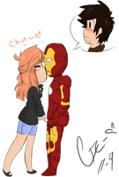 Iron Man : Potts x Stark by Crysvic