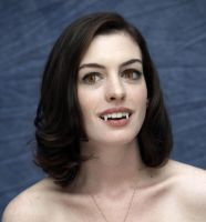 Vampire Anne Hathaway by TurlyVamp