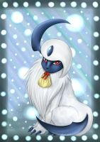 PKMN-Absol by Chao-Illustrations