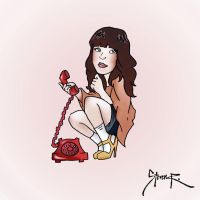 Carly Rae Jepsen - Call Me Maybe by hiding-paparazzi