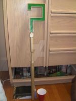 Arkham City Riddler Cane by AstrayWarrior