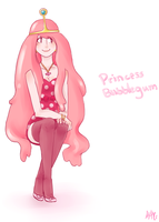 Princess Bubblegum by nena