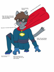 Superhero design ~completed~ by ComedianCat
