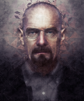 Heisenberg - Low Poly Art by Sylveon-tan
