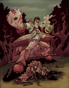 Evil Dead...a year later by skulljammer