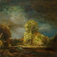 Landscape after Rembrandt by LauraWilde