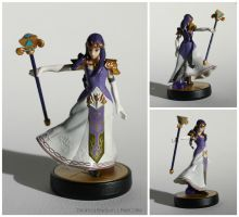Princess Hilda Custom Amiibo Figure by PixelCollie