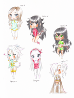 Chibiwibies by lonehuntress