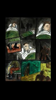 CARMEN #2 - UNLETTERED PAGE by CarmenComicSeries