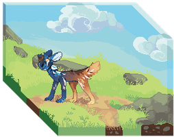 Pasture pixel by Kyldrun