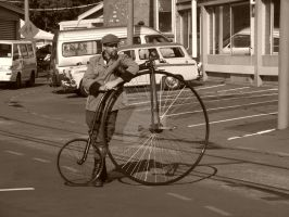 A Penny-Farthing for your thoughts by BrendanR85