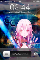 Iphone 4 Guilty Crown Yuzuriha Inori by Akw-Art-Design