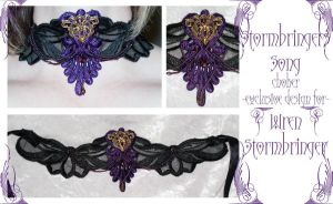 Stormbringer's Song choker by redLillith