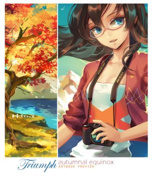 Triumph Artbook Preview - Autumnal Equinox by ofSkySociety