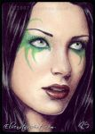 ACEO -- Opal Obsession by ElvenstarArt
