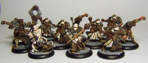 WARMACHINE Menoth Zealots by FraterSINISTER