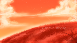 Orange Skies by The-Nutkase