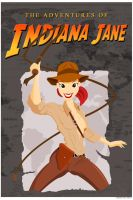 INDIANA JANE by thisisanton