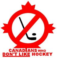 Canadians Against Hockey by LimeGreenSquid