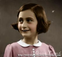 Anne Frank mid-1930s by Livadialilacs